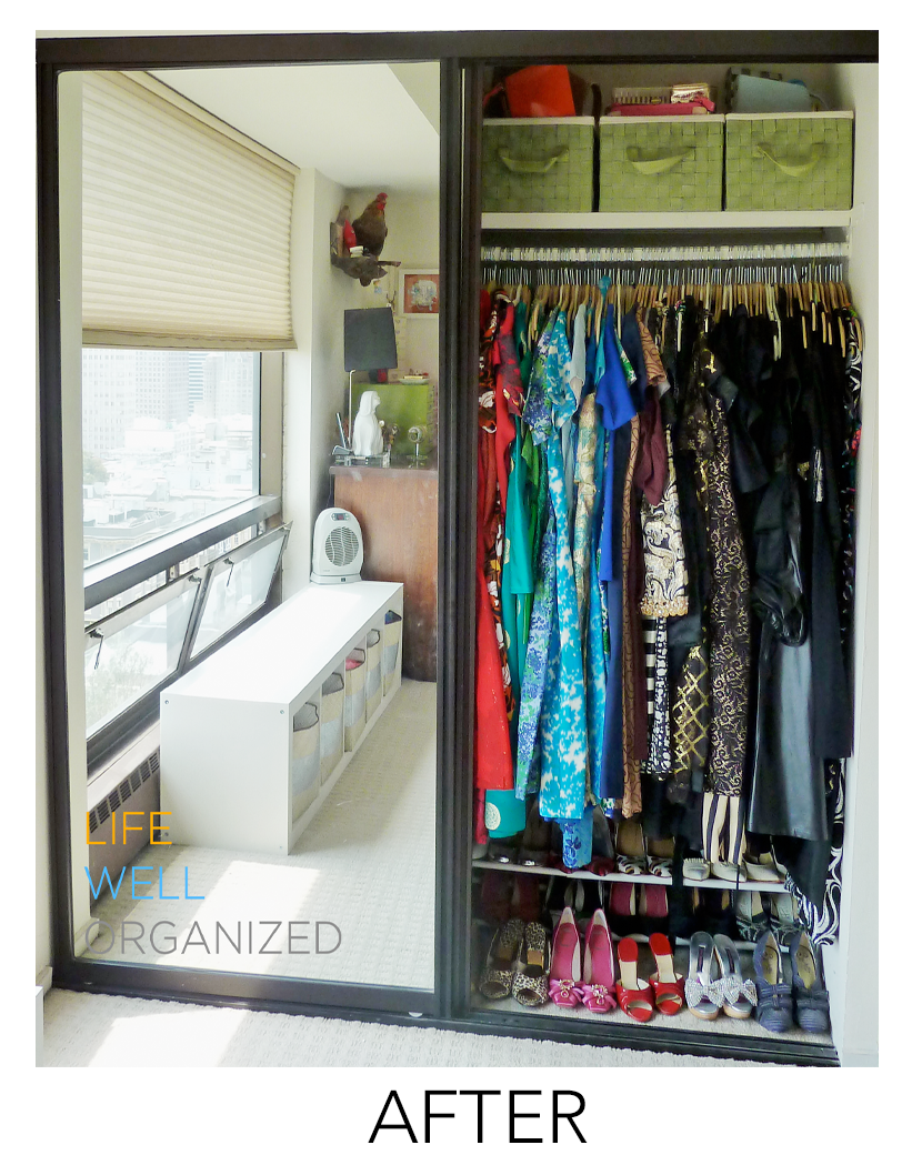 ... Life Well Organized: Vintage Couture Closet After ...